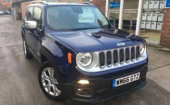 Jeep Renegade 1.6 MultiJetII Limited (s/s) 5dr