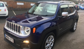 Jeep Renegade 1.6 MultiJetII Limited (s/s) 5dr full